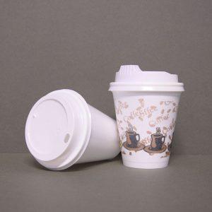 1020 FOAM CUP & PRINTED 8oz & SPECIAL LID 3031