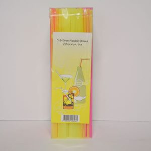 FLUORESCENCE-FLEXIBLE-STRAWS-X225